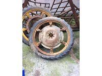 Row crop wheels (sold)