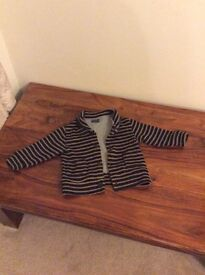 Next boys lined cardigan age 12-18 months