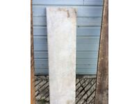 Marble slab ideal for door threshold or fire hearth or shelve