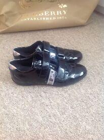 Prada Genuine trainers size 5 , Colour black patent