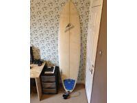 "Spider 7' 2"" Mini-Mal Surfboard"