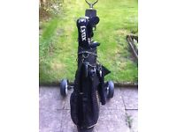 Lynx predator golf clubs with bag and trolley