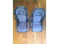 2 Mamas & Papas hi back booster seats with detachable backs