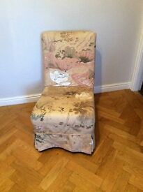 excellent craft/knitting, nursing or child's, small armless chair