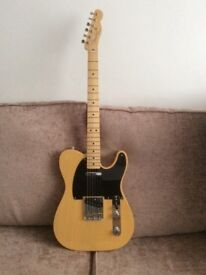 Fender Baja Telecaster with Fender Gig Bag.