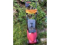 A working lawnmower free to go