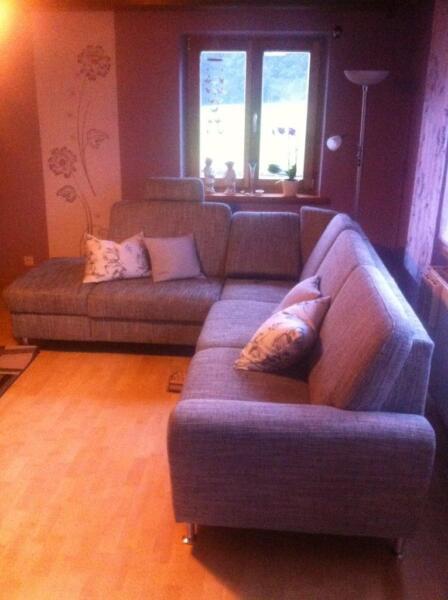 ecksofa eckcouch grau gebraucht in bayern rinchnach. Black Bedroom Furniture Sets. Home Design Ideas