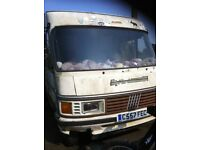 NOW SOLD XXXX HYMER FIAT DUCATO 2.5 D LHD 1986