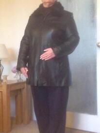 Black 3/4 Jacket