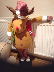 Soft decorative reindeer