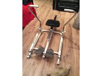 Tunturi Rowing Machine & Indoor Treadmill very good condition