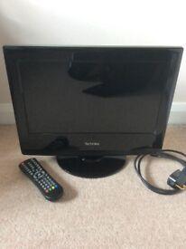 "Flatscreen 15"" Technika HD & DVD TV"