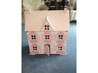 ELC Rosebud dolls house with box
