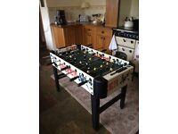 Sportcraft Table Football. Automatic 'Kick Off'. L:48ins, W:40ins, H:30ins. £30.00