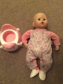 Baby annabell bundle great Christmas present