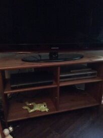 Ikea pine corner tv/dvd/unit