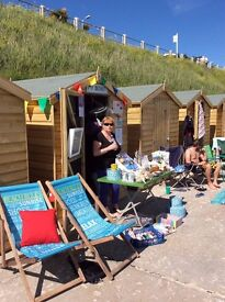 Beach hut with no amenities available to let on daily basis on Castle Beach, Falmouth
