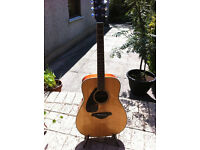 Yamaha FG720LS Left-Handed Acoustic Guitar. Near Mint.