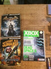 12 Gaming mags and books