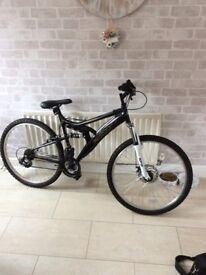 Mountain bike never used