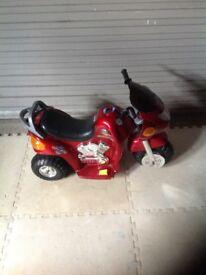 Police 6v motorbike ride on