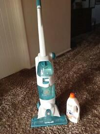 Vax V-120 Floormate. Vacuums, washes and dries. Spinscrub technology and twin tanks .RRP £149.99.