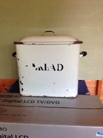 An Old Bread Box/ Bin