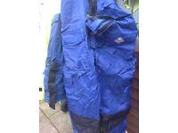Fladon flotation jacket & trousers hardly used