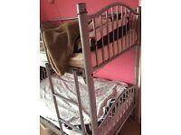 Bunk bed....metal frame