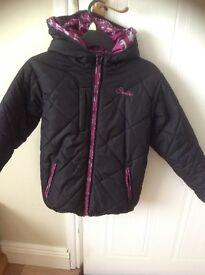 Girls reversible 2-1 coat