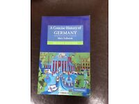A concise History of Germany Mary Fulbrook (Second Edition)