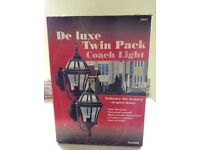 Lights Outdoor - Coach Lantern twin pack