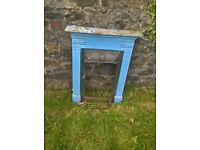 Antique original cast iron fireplace. Approximate size 610 mm wide and 890mm high .