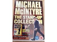 Michael McIntyre - DVD - The Stand Up Collection - 3 Disc's.
