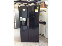 Samsung RS7667FHCBC 91cm Frost Free American Fridge Freezer with Ice and Water Dispenser #341567
