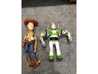 Toy story woody and buzz