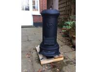 Multi fuel coal/wood vintage French stove -Godin no 3