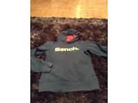 Hoodie aged 13 - 14 years bench