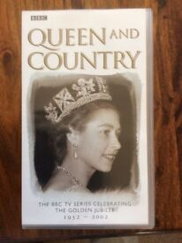 BBC Videos Queen and Country Box Setb