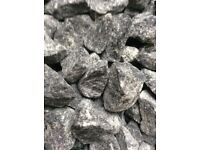20 mm Nevis grey garden and driveway chips / stones/ gravel