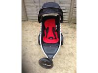 Phil & Ted Double Buggy with carrycot