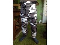 Combat motorbike trousers