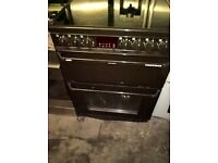 brown electric ceramic cooker 60cm....Mint free delivery