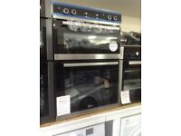 Flavel intergrated double fan oven £285 RRP £362. New/graded 12 month Gtee