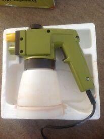 Power line electric spray gun £15