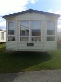2 bedroom caravan at Lossiemouth, Silver Sands
