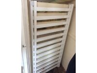 Brand new never used white henleys cot bed excellent condition