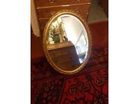 Gold gilt framed mirror