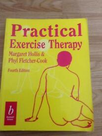 Practical exercise therapy study book