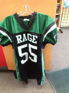 Rage AAA Football Jersey -Men's M- green/black (sku: Z14875)